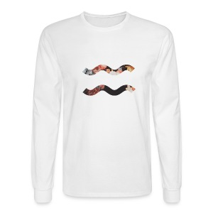 Floral Wave (Buy From RedBubble) - Men's Long Sleeve T-Shirt