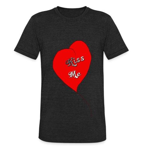 Heartbeat  - T-shirt triple mélange pour hommes