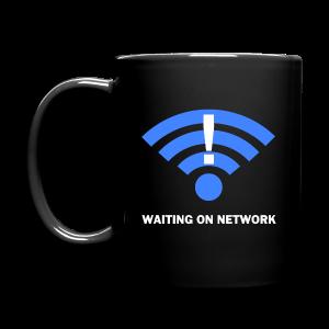 WAITING ON NETWORK - Full Color Mug