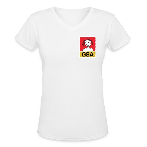 GSA T-Shirt woman - Women's V-Neck T-Shirt