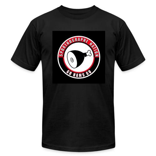 Sportnographe Nation - Men's Fine Jersey T-Shirt
