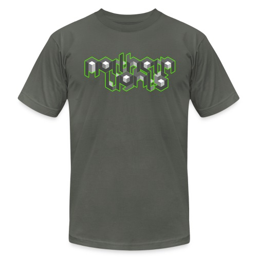 NL Neon Fitted T-Shirt (M) - Men's Fine Jersey T-Shirt