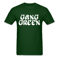 T-Shirts ~ Men's T-Shirt ~ Gang Green Birds Shirt