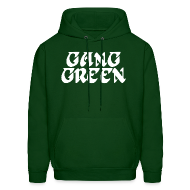Hoodies ~ Men's Hoodie ~ Gang Green Birds SweatShirt