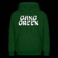 Hoodies ~ Men's Hoodie ~ Gang Green Birds SweatShirt