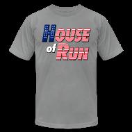 T-Shirts ~ Men's T-Shirt by American Apparel ~ House of Run T-Shirt