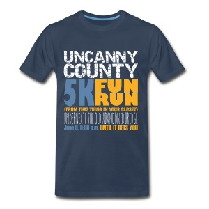 Men's 5K Fun Run From That Thing in your Closet - Men's Premium T-Shirt
