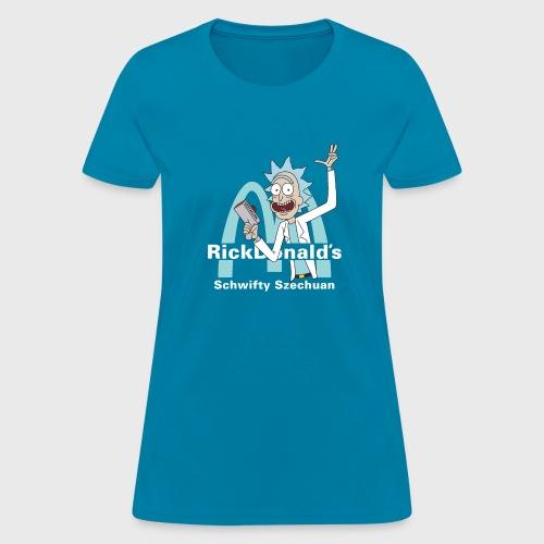 Szechuan Rick and Morty - Women's T-Shirt