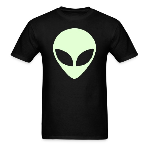Glow in the Dark Alien (Men) - Men's T-Shirt