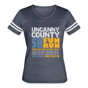 Women's 5K Fun Run From That Thing in your Closet Jersey - Women's Vintage Sport T-Shirt