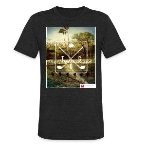 CourseCollage1 (black) t-shirt - Unisex Tri-Blend T-Shirt