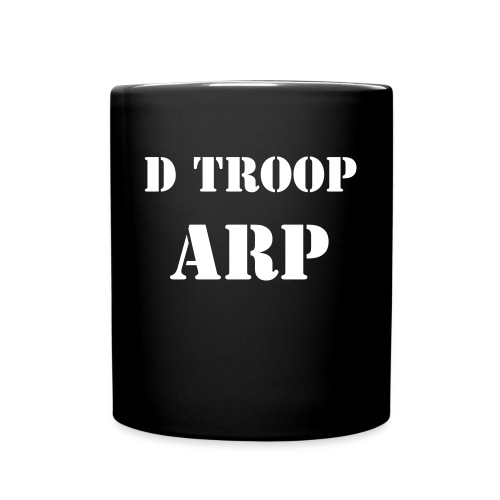 D Troop Wings and Position Mug WHITE ARP - Full Color Mug