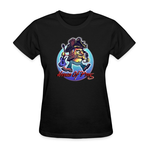 Black Ladies House of Prog Tour Shirt - Women's T-Shirt