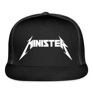Minister (Rock Band Style) - Hat - Trucker Cap
