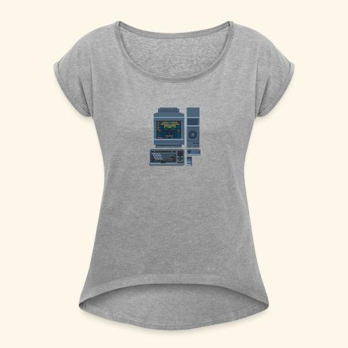 Japanese Computer FMT 1 - Women's Roll Cuff T-Shirt
