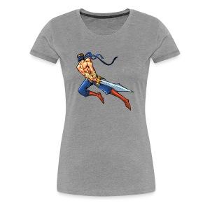 Seth Thamro Flight Ladies Cut - Women's Premium T-Shirt
