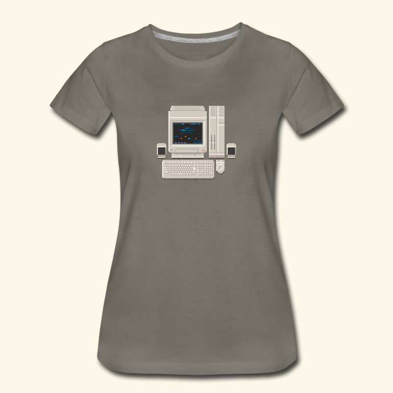 Japanese Computer X68000a - Women's Premium T-Shirt