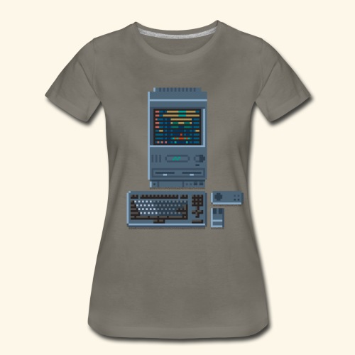 Japanese Computer FMT II - Women's Premium T-Shirt