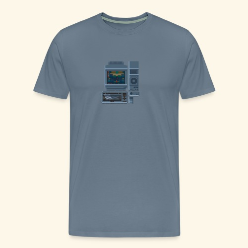 Japanese Computer FMT 1 - Men's Premium T-Shirt