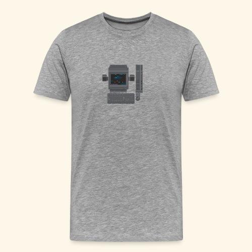 Japanese Computer X68000b - Men's Premium T-Shirt