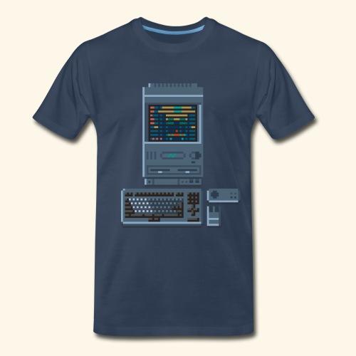 Japanese Computer FMT II - Men's Premium T-Shirt