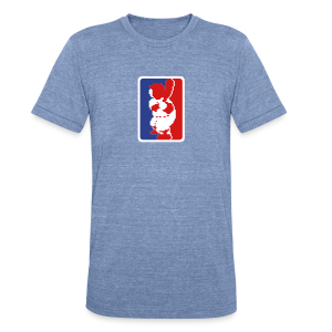 RBI Baseball MLB Logo Triblend Tee - Unisex Tri-Blend T-Shirt