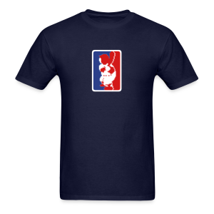 RBI Baseball MLB Logo - Men's T-Shirt