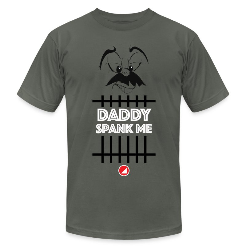 BULGEBULL DADDY - Men's T-Shirt by American Apparel