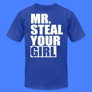 Mr. Steal Your Girl T-Shirts - stayflyclothing.com - Men's T-Shirt by American Apparel
