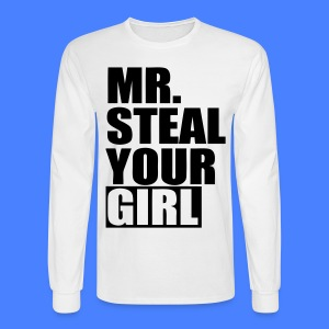 Mr. Steal Your Girl Long Sleeve Shirts - stayflyclothing.com - Men's Long Sleeve T-Shirt