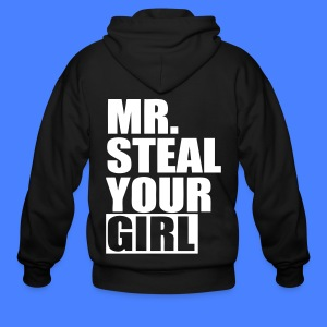 Mr. Steal Your Girl Zip Hoodies/Jackets - stayflyclothing.com - Men's Zip Hoodie