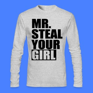 Mr. Steal Your Girl Long Sleeve Shirts - stayflyclothing.com - Men's Long Sleeve T-Shirt by Next Level
