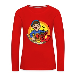 WOMEN'S LONG SLEEVE T-SHIRT: MATT & TUNES - Women's Premium Long Sleeve T-Shirt