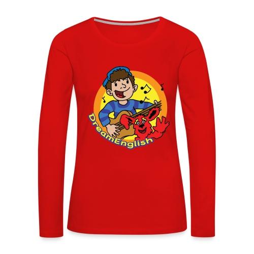 WOMEN'S LONG SLEEVE T-SHIRT: MATT & TUNES - Women's Premium Long Sleeve T-Shirt