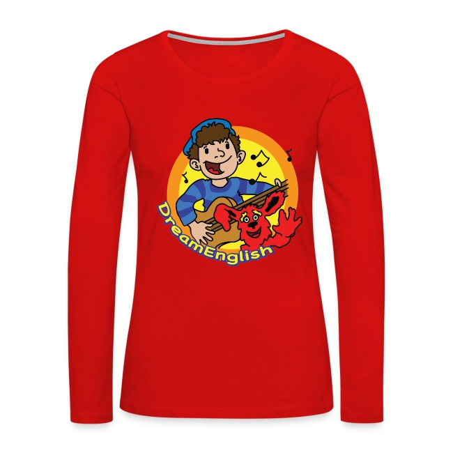 WOMEN'S LONG SLEEVE T-SHIRT: MATT & TUNES