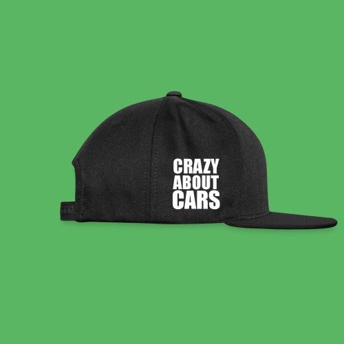 Noobdrive Crazy abute cars - Snap-back Baseball Cap
