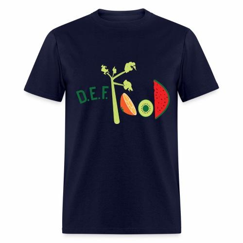 Mens DEFFood T-shirt  - Men's T-Shirt