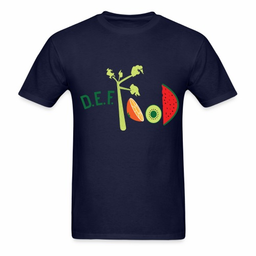 Mens DEFFood T-shirt  - Men's T-Shirt