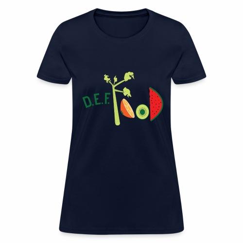Womens DEFFood T-shirt  - Women's T-Shirt