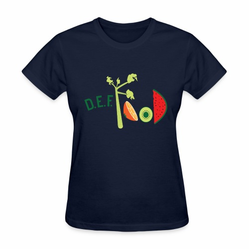 Womens DEFFood T-shirt  - Women's T-Shirt