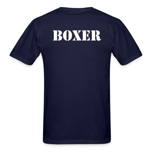 Boxer Shirt  - Men's T-Shirt