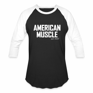 American Muscle BB-shirt - Baseball T-Shirt