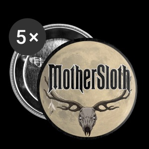 MotherSloth - Skull Button - Small Buttons