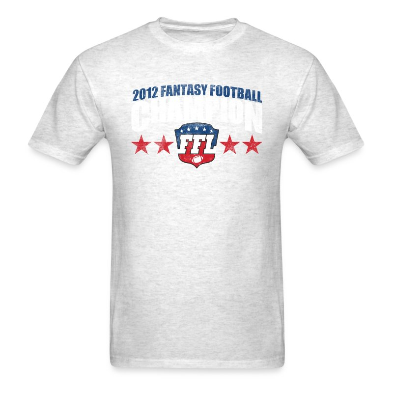 Fantasy Football Champion 2012 T Shirt Spreadshirt