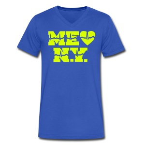 me gusta Nueva York - Men's V-Neck T-Shirt by Canvas