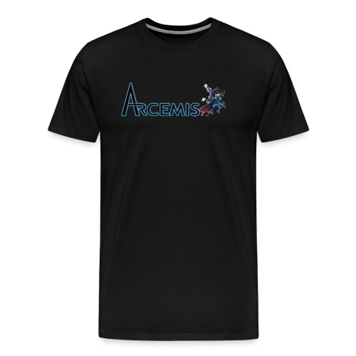 Arcemis Vayne T-Shirt (Blk) - Men's Premium T-Shirt