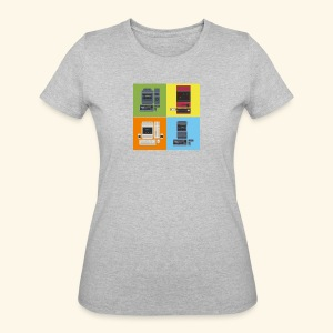 Japanese Computers - Women's 50/50 T-Shirt