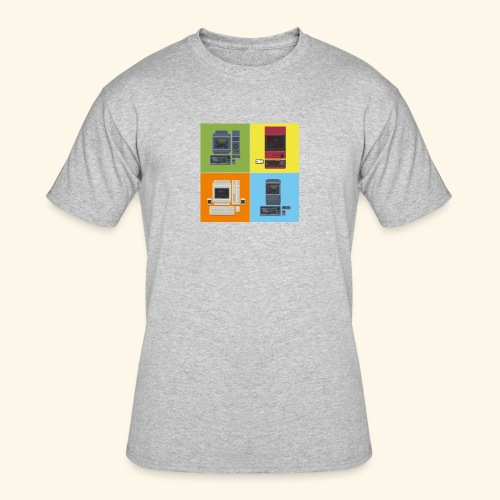 Japanese Computers - Men's 50/50 T-Shirt