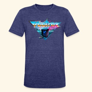 VectrexFever - Unisex Tri-Blend T-Shirt by American Apparel