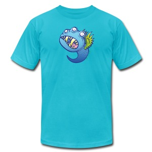 Winged little blue monster T-Shirts - Men's T-Shirt by American Apparel